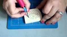 Hand carved stamp tutorial, via YouTube.