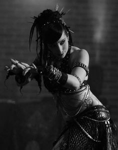 She is so amazingly fierce and awesome with her movements....Ariellah