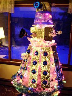 Now that's a Christmas Tree! dalek-tree