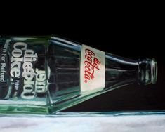 Sally is painting today.: Ready for Friday! The Hammond, Reflection Art, Hyperrealism, Diet Coke, Painting Gallery, Still Life Art, Artist Painting, Sally, Vodka Bottle
