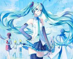 VOCALOID- Hatsune Miku (CV-01) by IXima