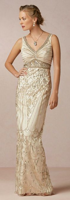 Beautiful Beaded Gown