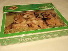 Vintage Mead Trapper Keeper 3 Ring School Binder Puppy Dog Design ...