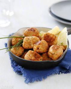 Kalapullat lohifileestä | Kotivinkki Work Meals, Koti, Ethnic Recipes, Fish, Drinks, Beverages, Drink, Beverage, Drinking
