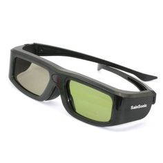 SainSonic branded SSZ-200B UNIVERSAL 3D Rechargeable Infrared Active Shutter Glasses For Panasonic, Samsung, Sony, Sharp 3D HDTVs *Newest Version in BLACK* by SainSonic. $25.99. This SainSonic SSZ-200B UNIVERSAL 3D Glasses is the newest version of 3D  glasses that developed by Sain Store.  Features: 1. Rechargeable: Not Battery Powered - These glasses are rechargeable not battery powered. This  saves you the time and hassle from having to drive to a store, find the right  batte...
