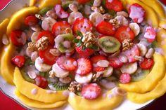 Ensalada de frutas afrodisiacas