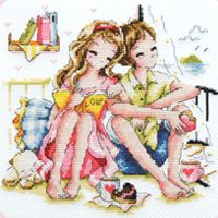 """""""Our Travel Diary"""" Cross Stitch"""