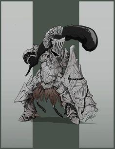 Dark Souls- Havel the Rock by KrumpZero on DeviantArt
