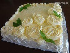 Ďaľšia torta s ružami (fotorecept)