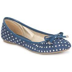 StylistClick  NICKIE  womens Shoes Pumps  Ballerinas in Navy-indigo £16.89 AT vintagedancer.com