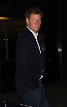 anythingandeverythingroyals:  Prince Harry at The Arts Club, April 1, 2014