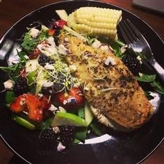 Balsamic Goat Cheese Stuffed Chicken Breasts Allrecipes.com Use this method with wild rice and add some mushrooms or/and spinach