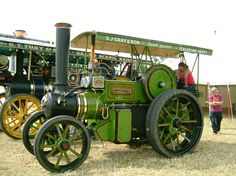 Vintage Tractor. Vintage Tractor by Derek Comach   (restored)