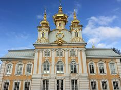 Summer Palace. Peterhof Palace.