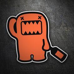 Pegatinas: Domo kun mascota NHK. #coche #pegatina #sticker