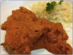 Pollo Tikka Masala (estilo hindú)
