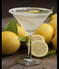 LEMON DROP MARTINI My favorite! Has to be fresh! Absolut Citron, fresh squeezed lemons, teaspoon of sugar, splash of sour mix, shake pour! garnish with a lemon and a sugar-rim martini glass! Lemon Drop Martini, Lemon Drop Cocktail, Vodka Recipes, Martini Recipes, Cocktail Recipes, Drink Recipes, Shot Recipes, Vodka Drinks, Fun Drinks