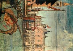 #Postcard: venice, ducal palace, v. #carpaccio, st. #mark's lion,  View more on the LINK: http://www.zeppy.io/product/gb/2/291998942601/
