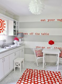 Get the Look: Adding Color to the Kitchen www.thistlewoodfarms.com