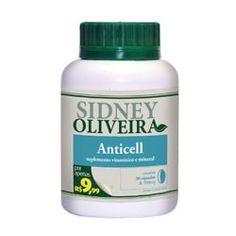 Anticel 500 mg - sidney oliveira com 30 cápsulas por R$9,99