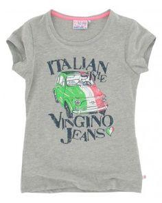 Vingino meisjes t-shirt Hanini grijs