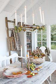 Så har man virkelig funnet seg til rette i sitt herlige orangeri:) Her har det meste falt på plass i helgen og hele det lille huset er n...
