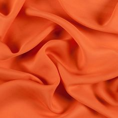 Burnt Orange Silk Double Georgette