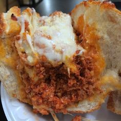 A marvelously simple sausage (grinder) sandwich from Something Italian. Loads of saucy Italian sausage! Get a fork!
