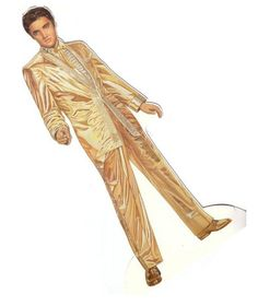 Elvis Presley Paper Doll by Peck Aubry - cleanhouse2000@hotmail center - Picasa Web Albums