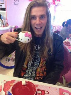 me cat boy long hair hello kitty metal long haired men metalhead Meshuggah long haired guys men with long hair guys with long hair long haired boys men with beards boy with long hair guy with long hair long haired boy long hair boys boy long hair Boys Long Hairstyles, Braided Hairstyles, Trendy Haircuts, Hairstyle Men, Funky Hairstyles, Beautiful Hairstyles, Formal Hairstyles, Dudes With Long Hair, Beautiful Men