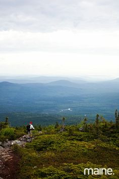 Maine's Hundred-Mile Wilderness, the northernmost stretch of the Appalachian Trail between the town of Monson and Baxter State Park