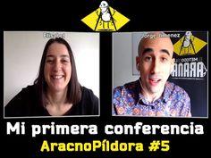 Cómo dar mi primera Conferencia con Elisabet Temporal  | AracnoPíldora#5 http://blgs.co/k5zg9j