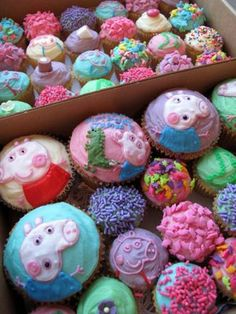 Peppa Pig Tegan would love these!!