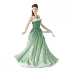 Royal Doulton Birthstone Petites May - Emerald ($81) found on Polyvore featuring home, home decor, royal doulton and emerald green home decor