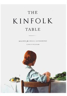 Pigment - The Kinfolk Table Cookbook, $35.00 (http://www.shoppigment.com/the-kinfolk-table-cookbook/)