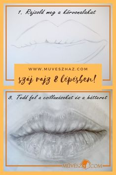 Portré rajzok - Száj rajz 8 lépésben! Katt és tanuld meg Te is>> Stuff To Do, Ted, Movies, Movie Posters, Films, Film Poster, Cinema, Movie, Film