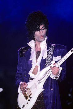 Prince performs on the Purple Rain tour at Joe Louis Arena in Detroit Michigan on November 9 1984 Mavis Staples, Sheila E, Madonna, Rock N Roll, Joe Louis Arena, Rain Pictures, Prince Images, Prince Purple Rain, Paisley Park