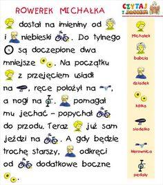 Polish Language, Montessori, Activities For Kids, Kindergarten, Humor, Education, School, Children, Speech Language Therapy