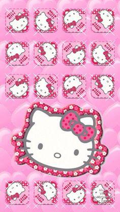 pink tile hello kitty