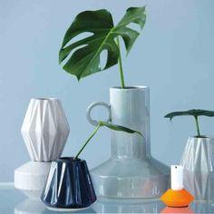 Vase Fly light grey von house doctor