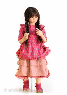 Anna Lu. Vinyl collectible doll by Annette Himstedt
