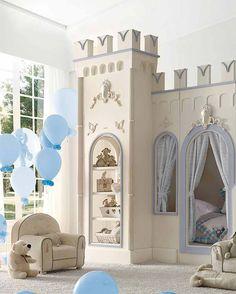 Кровать детская игровая двухъярусная, Savio Firmino - Мебель МР