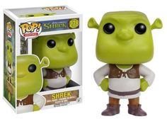 Product Info Here is a Pop! Vinyl with layers! This Shrek Pop! Vinyl Figure features your favorite jolly green ogre as seen in the hit animated film series! Standing about 3 3/4-inches tall, this figu