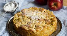Fransk äppelkaka med kardemumma - Vegomagasinet Quiche, Pie, Sweets, Vegan, Cookies, Baking, Breakfast, Desserts, Buns