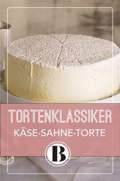 Käsesahne-Torte zählt mit zu den Klassikern unter den Tortenrezepten – und kan… The cream cheese cake is one of the classic cake recipes – and can even be frozen! Easy Cookie Recipes, Pumpkin Recipes, Sweet Recipes, Baking Recipes, Cake Recipes, Dessert Recipes, Desserts, Peanut Butter Cookie Recipe, Chocolate Peanut Butter
