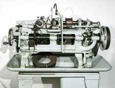 Automatic lathe   Science Museum Group Collection