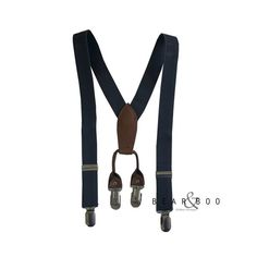 Adorable grey suspenders for toddlers!