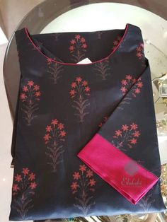 Best 12 How to make different types of kurthi neck patterns – Simple Craft Ideas – SkillOfKing. Salwar Pattern, Kurta Patterns, Dress Neck Designs, Saree Blouse Designs, Simple Kurti Designs, Kurti Styles, Kurti Embroidery Design, Churidar Designs, Kurta Neck Design