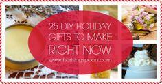 25 Homemade Holiday Gifts