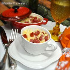 Polenta Cremosa de Caneca, pronta em 4 minutos | Monta Encanta